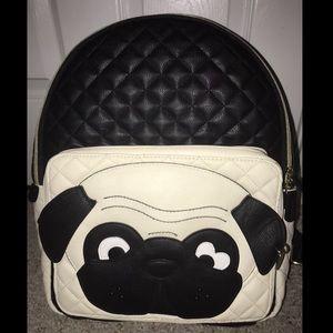 Betsey Johnson Kitsch Pug Backpack